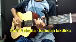 Raffi ft nagita - kamulah takdirku | cover fingerstyle usro Minotaur