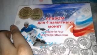 Мои коллекционные монеты(, 2016-04-30T08:50:01.000Z)