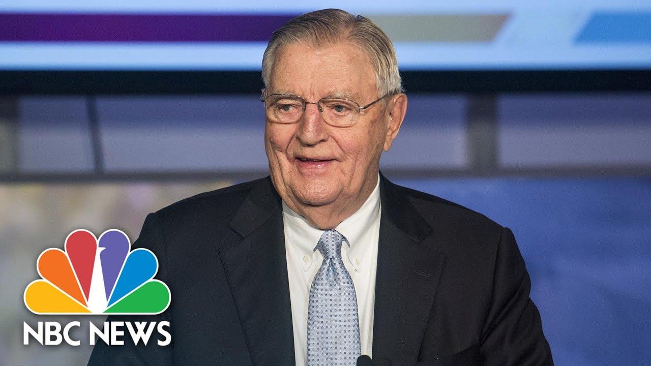 Walter Mondale, Ex-Vice President Under Jimmy Carter, Dies