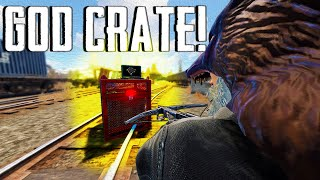 I GOT RUSHED AFTER GETTING A GOD CRATE! (Rust Solo)