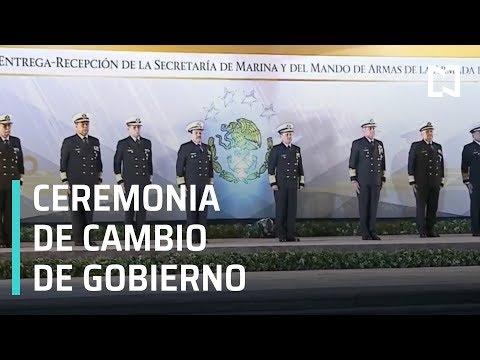 Ceremonia de cambio de gobierno -  SEGOB, SEDENA, SEMAR, SSP y PGR