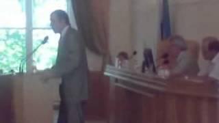 Речь Старовойтова на заседании Астраханской ОблДумы