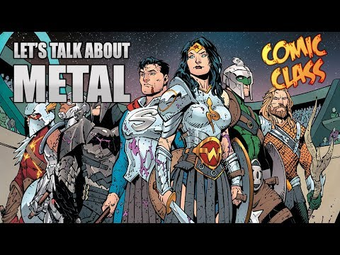 Let's Talk About Dark Nights Metal #1 - Comic Class