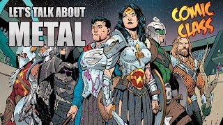 The first issue of DC's new event Dark NIghts Metal is finally here...