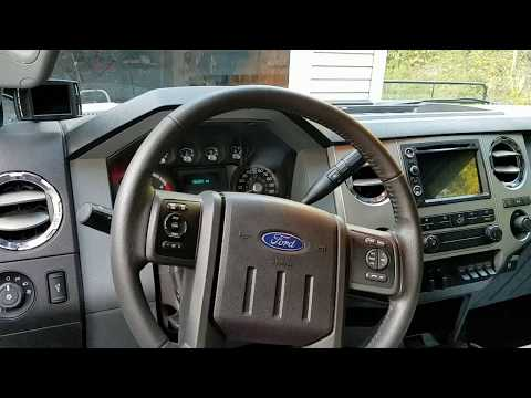 How To Adjust & Straighten Your Ford F250 F350 Super Duty Steering Wheel