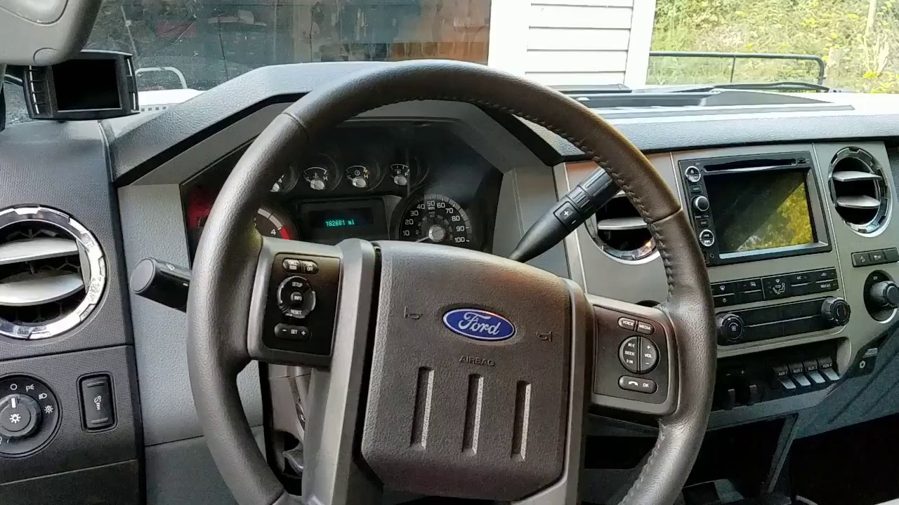 How To Adjust Straighten Your Ford F250 F350 Super Duty Steering Wheel