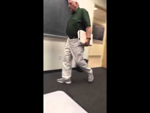I recorded my professor every day