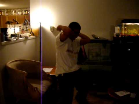Timothy Perry dancing like a pervert