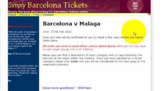 Fc barcelona tickets from simply ...