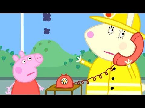 Свинка Пеппа на русском все серии подряд | Пожарная машина | Мультики