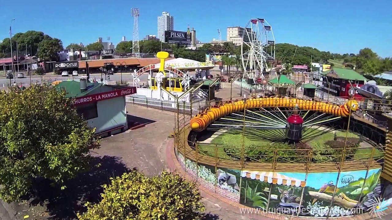 Video aéreo del Parque Rodó, Montevideo, Uruguay Desde Lo Alto ...