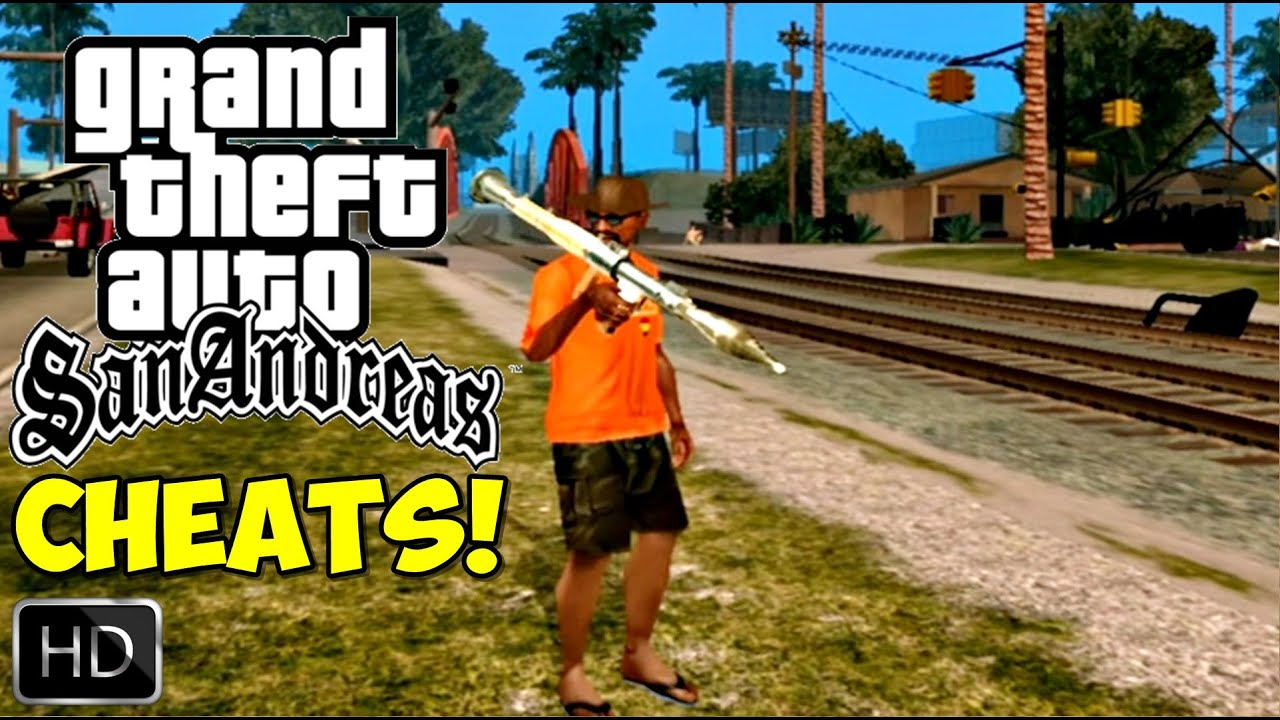 GTA San Andreas REMASTERIZADO HD TODOS CHEATS CDIGOS