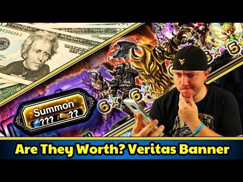 Final Fantasy Brave Exvius - Veritas Banner Review