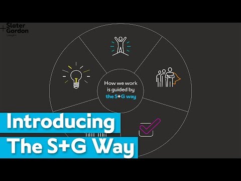 The S G Way: Our New Values | Slater and Gordon from YouTube · Duration:  2 minutes 38 seconds