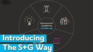 The S+G Way: Our New Values | Slater and Gordon