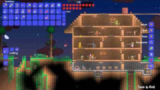 Terraria - Shadow Orbs, Blood Moons, and Muskets!