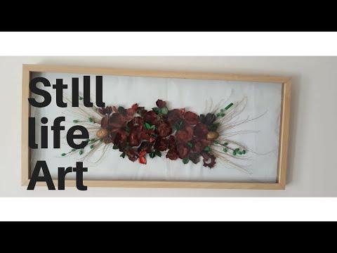 Still life frame/ cuadro de Naturaleza muerta ( Recycling) DIY