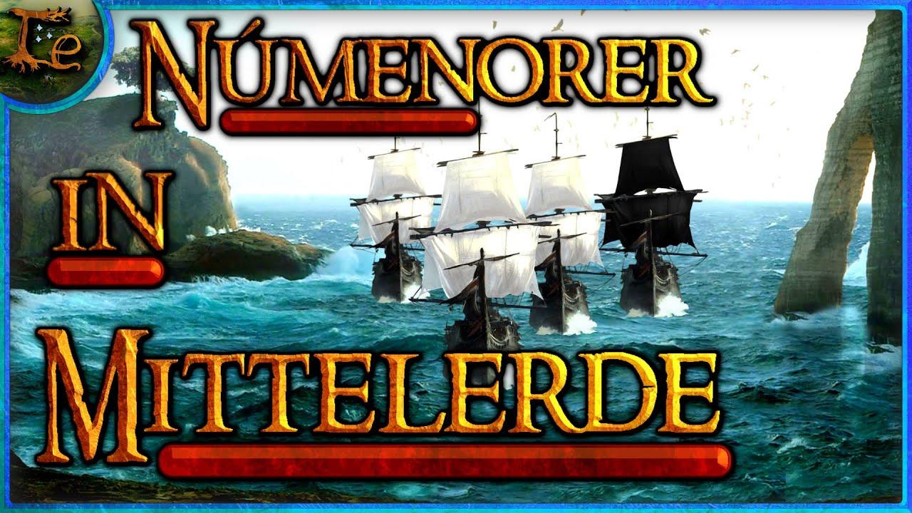 Númenorer in Mittelerde | Short Facts