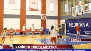 CANİK'TE TEMPO ARTIYOR