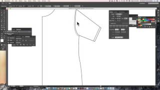 Basic Fashion Flat Drawing on Adobe Illustrator for Fashion Designers