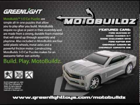 Papercraft MotoBuildz - 3D Foam Paper Model Kit