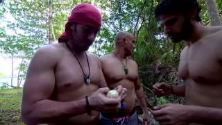 Survivor 1.bölüm Ağaçtan yemek buldular ama...