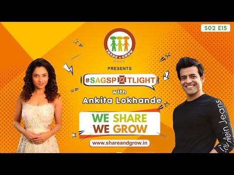 SAGspotlight S2 E15 | Ankita Lokhande | Himanshu Ashok Malhotra