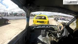 Andrew Jones #341 National Bangers In Car Video