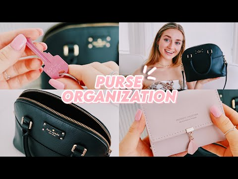 the BEST way to organize your purse (+ amazon products!!)