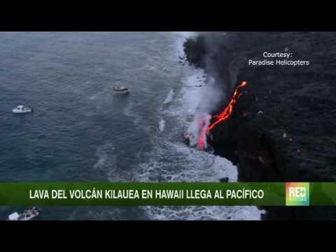Entró en erupción el volcán Kilauea de Hawai