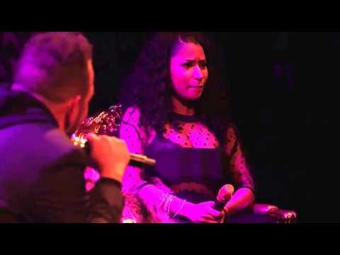 Nicki Minaj raps Monster verse during CRWN Interview