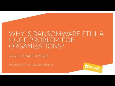 Unit 42 - Why is Ransomware Still a Huge Problem for Organizations?
