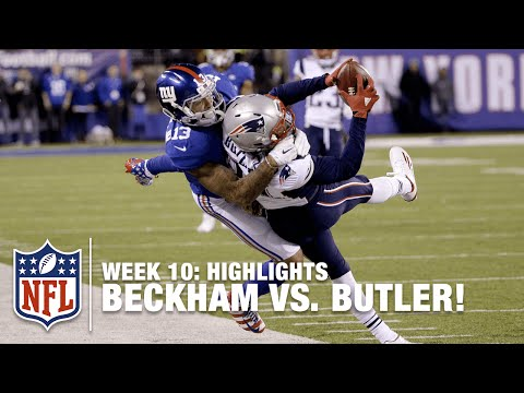 Odell Beckham Jr. vs. Malcolm Butler: Battle of the Rising Stars! | Patriots vs. Giants | NFL