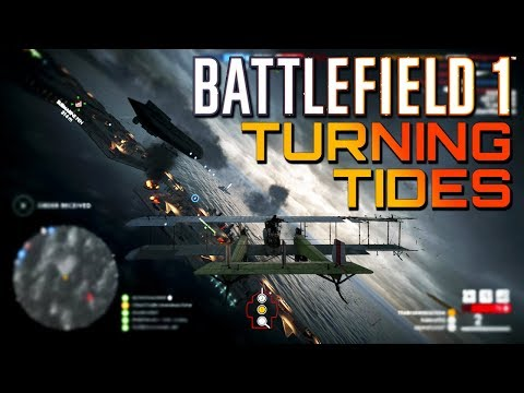 Battlefield 1: NEW MAP and AIRSHIP on Turning Tides DLC Gameplay! (PS4 PRO Multiplayer Gameplay)
