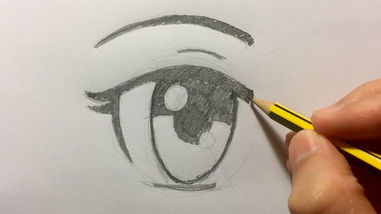 Como Dibujar Ojos En Estilo Anime Youtube