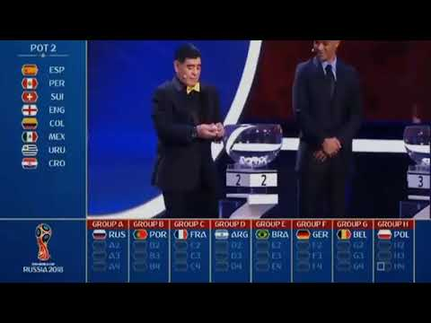World cup 2018 draw full video