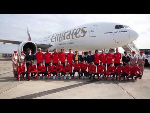 Paris Saint-Germain on Summer Tour   Emirates Airline