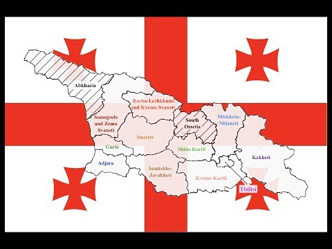 Explained: Georgia's Regions