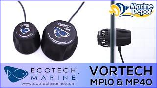 Ecotech Marine MP10 and MP40 Wave Pumps: High Tech Flow Pumps for your Aquarium
