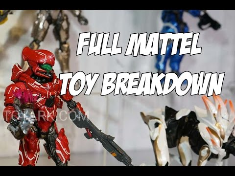 Full Mattel Halo Toys Breakdown + My Thoughts on No More McFarlane