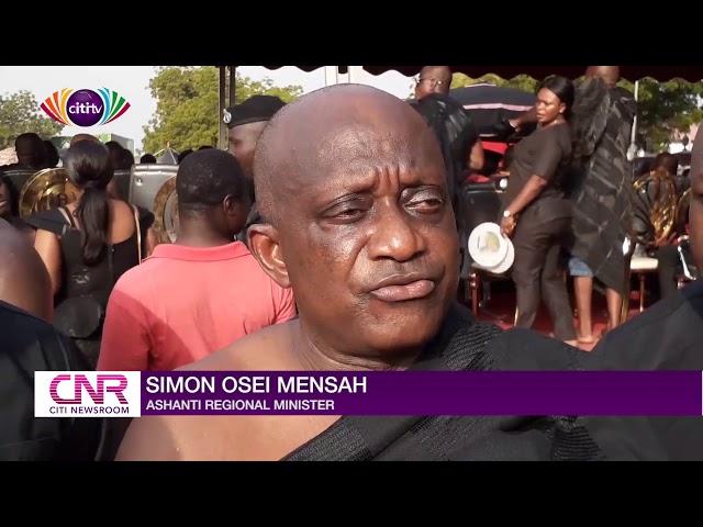 Late Barima Akwasi Agyemang: Kumasi's longest serving mayor laid to rest | Citi Newsroom