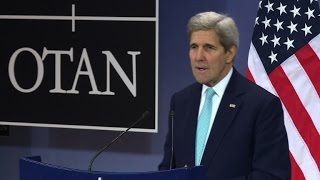 Kerry urges NATO to