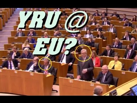 """""""Why are you here?"""" Juncker to Farage at EU"""