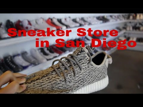 [VLOG] Tiệm giày HYPE ở San Diego !!