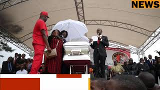 Former President Robert Mugabe send condolonce message to Tsvangirai Family