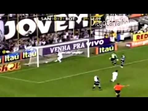 Kléber Pereira (56 gols pelo Santos).mp4