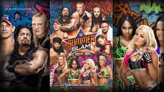 WWE SummerSlam 2017 OFFICIAL Theme Song Go For Broke By Machine Gun Kelly
