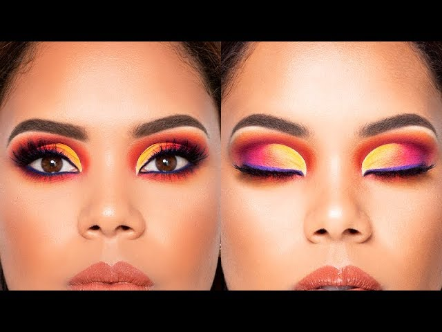 Tutorial de Maquillaje Colorido /Multicolor /Tecnica Mmmmitchell