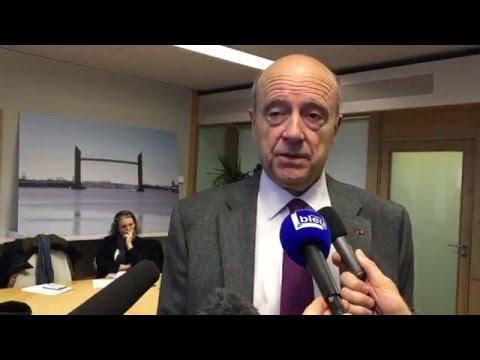 Interview Alain Juppé  Pdt de Bordeaux Métropole