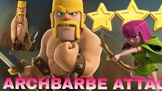Barbarian attack 100% || builder base || clash of clans || CLASH WITH MD GAMER.